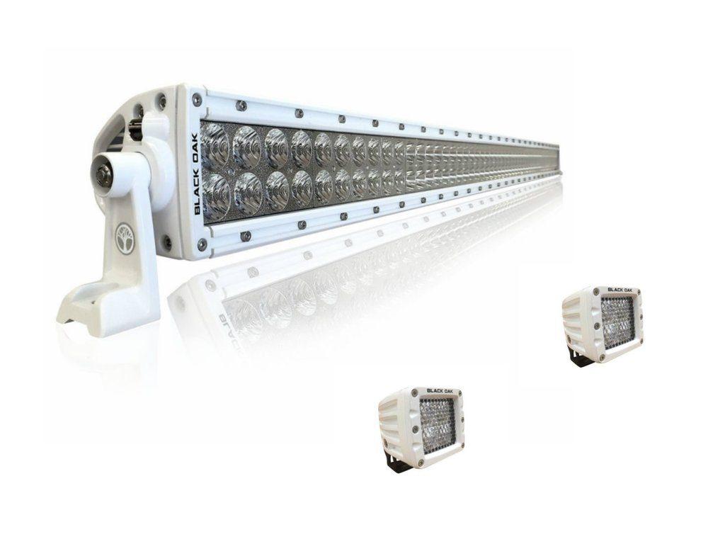 50'' Marine LED Light Bar Kit - 40'' & 2 Pods