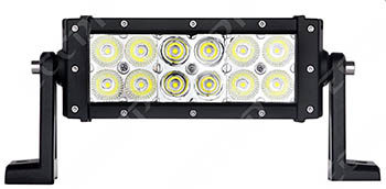 ECCPP 7.5-inch 36W Off Road LED Fog Light Bar