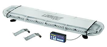 Wolo 7900-A Lookout GEN 3 Technology Low-Profile LED Emergency Warning Light Bar