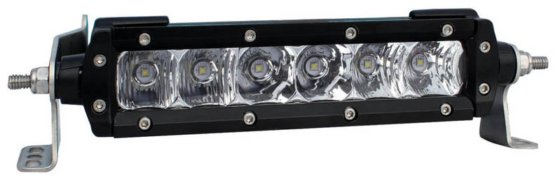 Black Oak 6-Inch S-Series LED Light Bar with 5W Osram LEDs