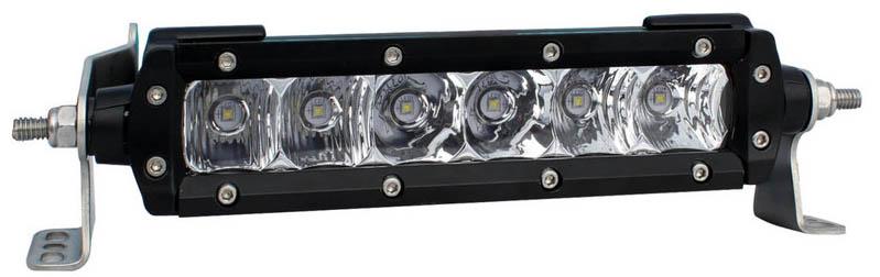 Black Oak 6-Inch S-Series LED Light Bar with 5W Osram LEDs
