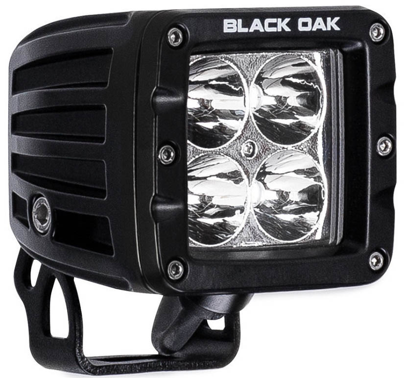 Black Oak LED Light Pod Specs for 3W-5W-10W Configurations