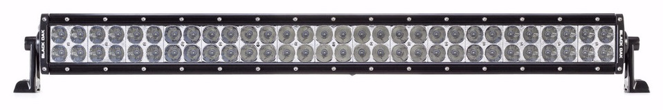 Best 30 inch led light bar reviews lightbarreport black oak 30 inch d series dual row led light bar review aloadofball Images