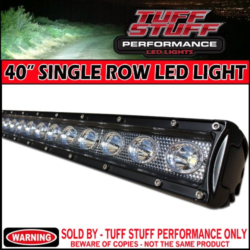 Tuff Stuff Performance 40-inch Single Row LED Light Bar Review