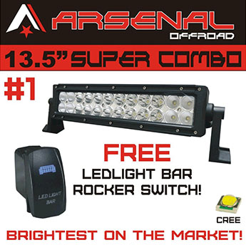 Arsenal Off-Road 12 Inch LED Light Bar