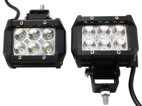 Rolinger 4 Inch High Cree Led Light Bar
