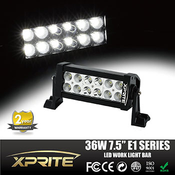 Xprite E1 Series 8 Inch LED Off-Road Light Bar