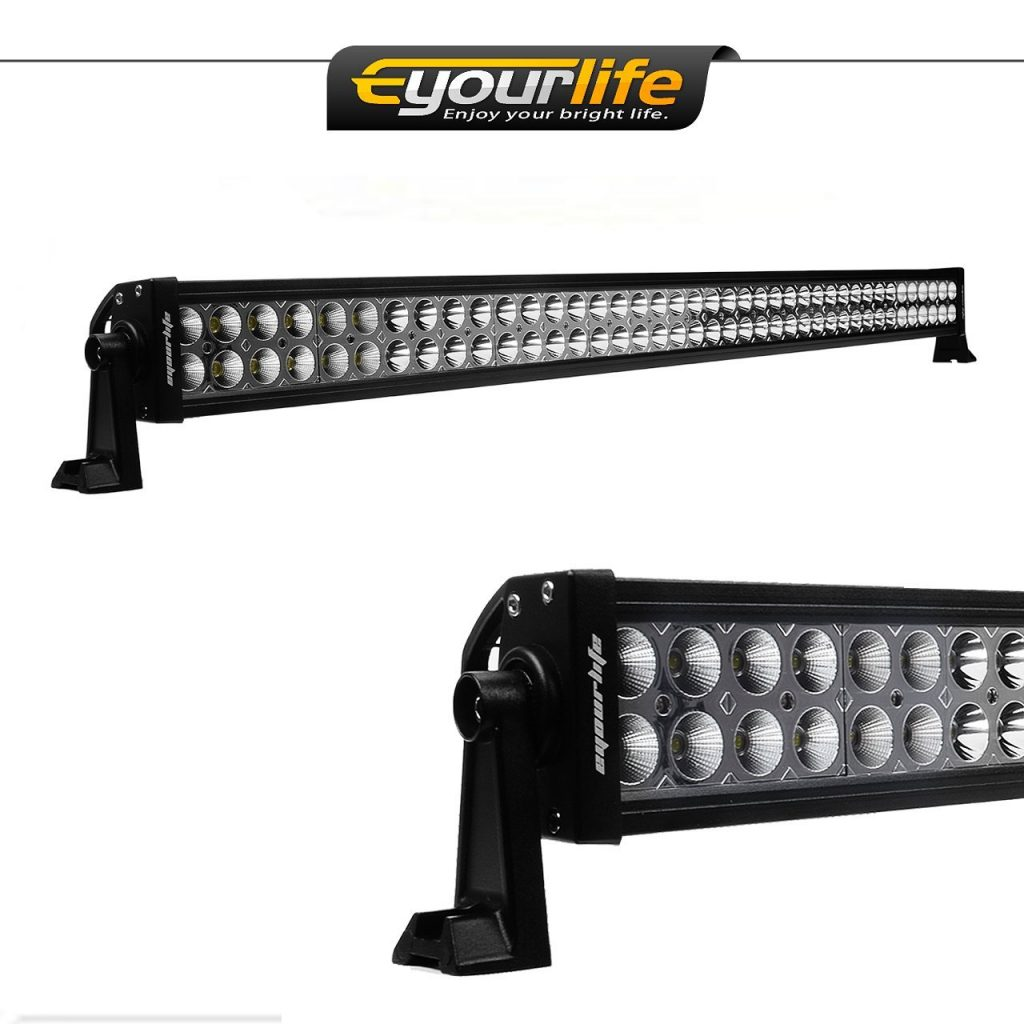 Best 42 inch led light bar reviews lightbarreport eyourlife 42 inch 240w 14400 lumen ip67 dual row off road led light aloadofball Gallery