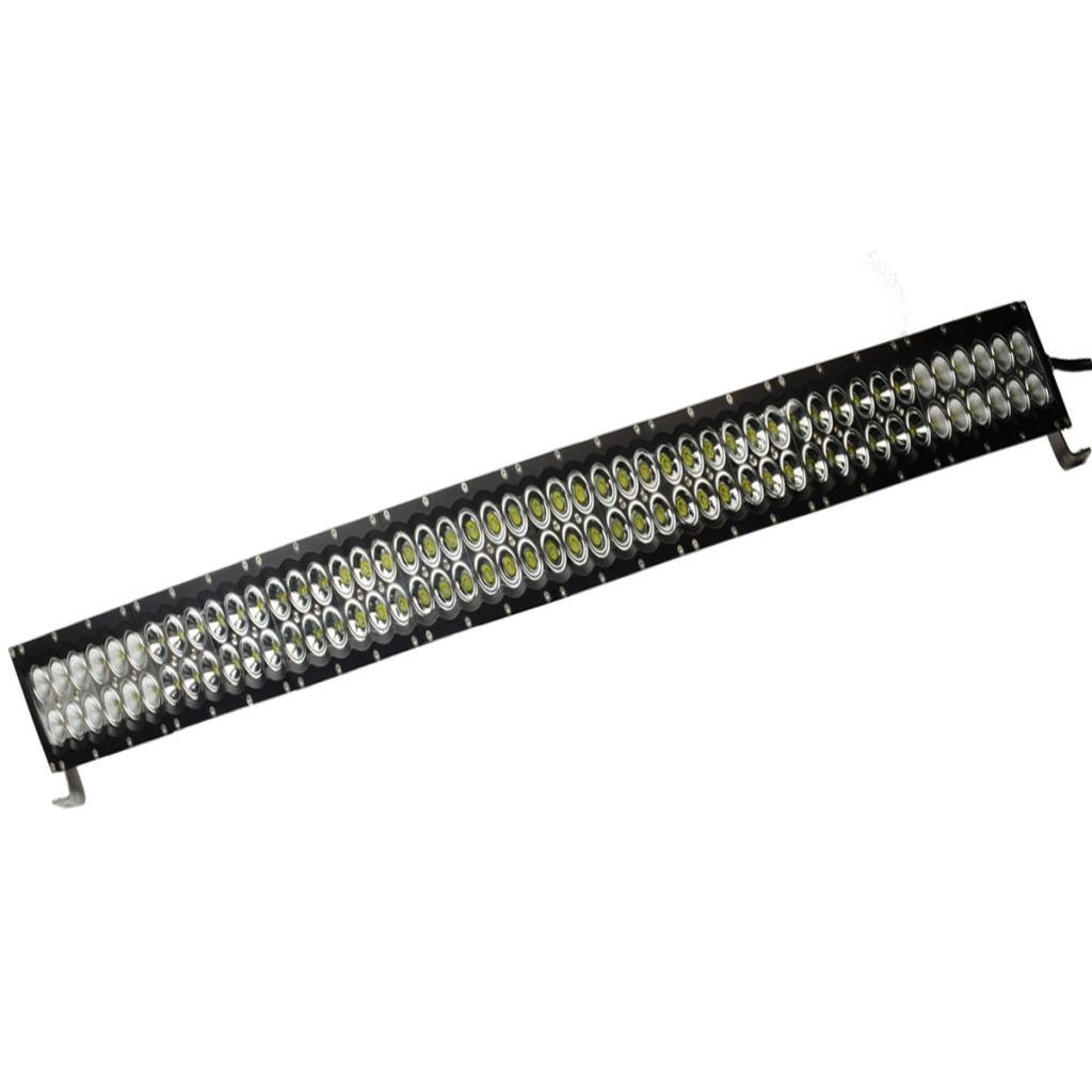 Eyourlife 48-Inch Curved LED Light Bar with 96 3W LEDs and Remote Control