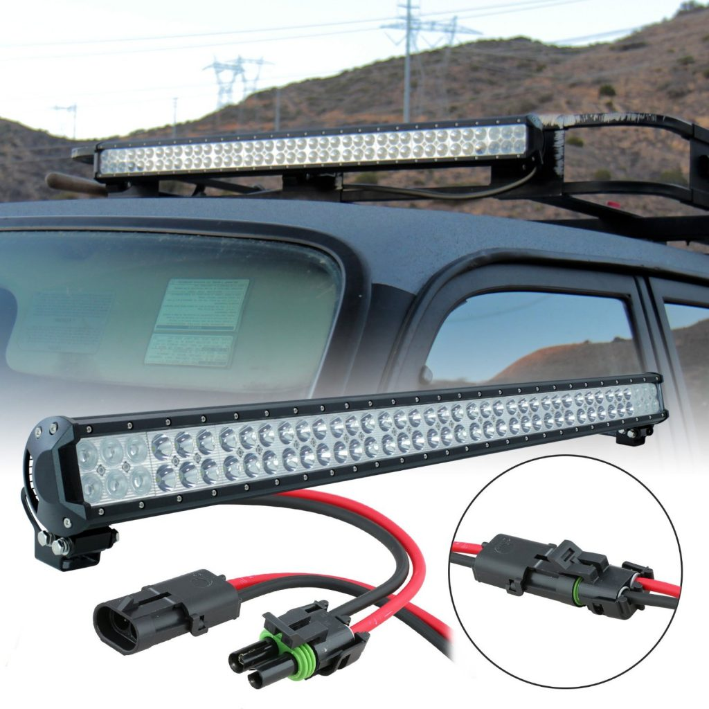 Lamphus Cruizer 36 inch LED Light Bar with 234W of CREE LEDs and SpotFlood Combo Beam