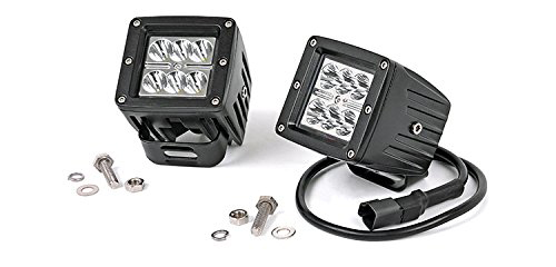 Rough Country 70903 2-Inch Chrome Series CREE LED Light Pods Kit