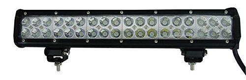 STV Motorsports Adjustable CREE 108W 17-Inch Combo Beam Off-Road Light Bar-
