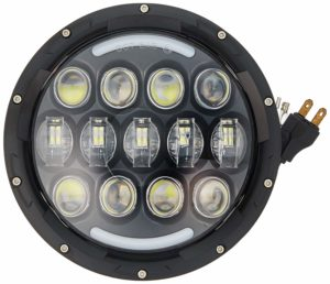 SUP-LIGHT Led Headlights with White Amber DRL Turn Signal