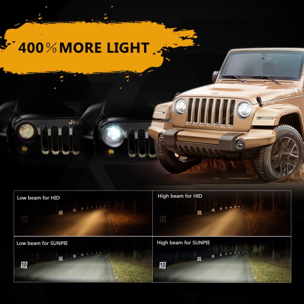 2014 Jeep Comp Headlights