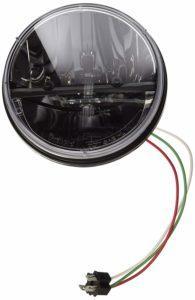 """Kuryakyn Phase 7 High Intensity 7"""" LED Headlamp Harley and Yamaha"""