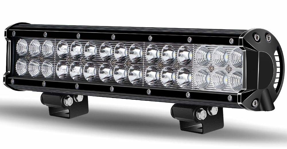 TURBO SII 14/15Inch LED Light Bar -IP67 WATERPROOF Spot & Flood Combo Beam Led Bar,9000LM LED Work Light Driving Fog Lamp Marine Offroad Lighting for SUV Jeep Ford Truck Boat, 1 Year Warranty