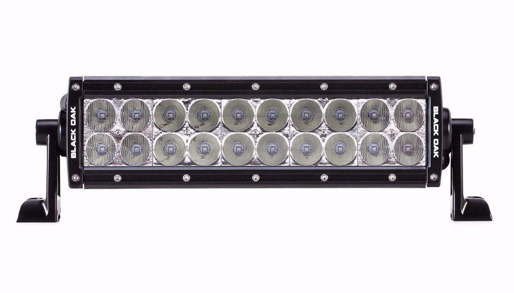 Black Oak 10-Inch D-Series Dual-Row 100W LED Light Bar